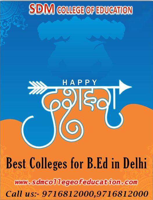 direct admission in b.ed colleges in delhi