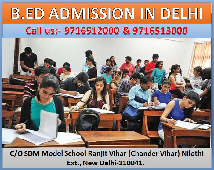 B.ED ADMISSION IN DELHI