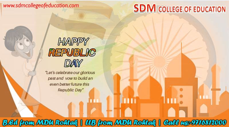 Happy Republic Day | B.ED from MDU Rohtak | LLB from MDU Rohtak